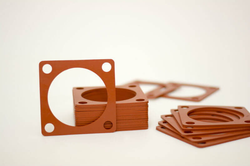 silicone red rubber gasket